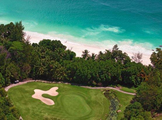 Golfplatz auf den Seychellen